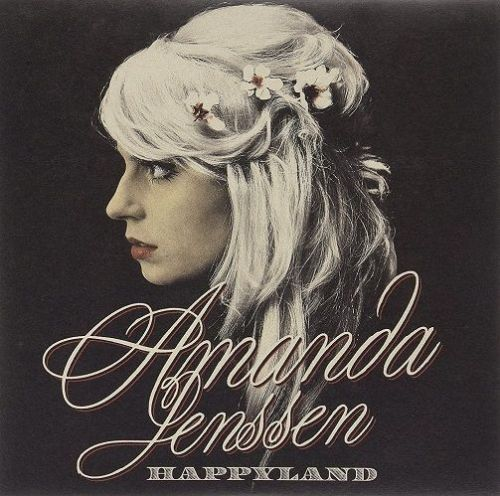 AMANDA JENSSEN Happyland Vinyl Record LP Epic 2009
